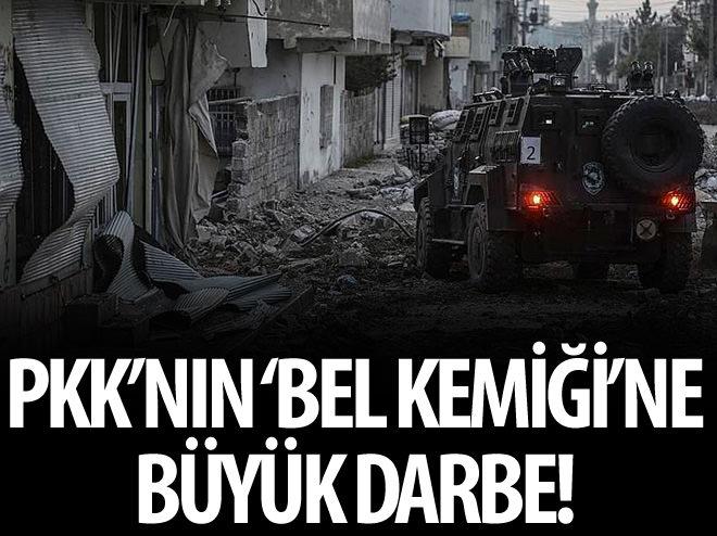 PKK'NIN 'BEL KEMİĞİ'NE BÜYÜK DARBE!