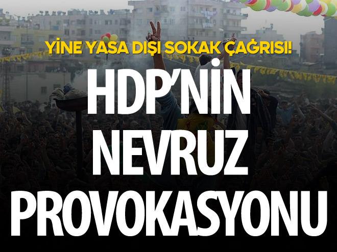 HDP'DEN NEVRUZ PROVOKASYONU!