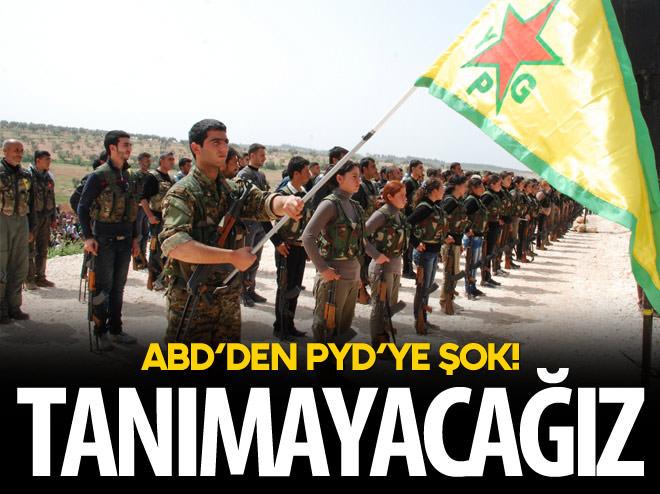 ABD'DEN PYD'YE ŞOK!