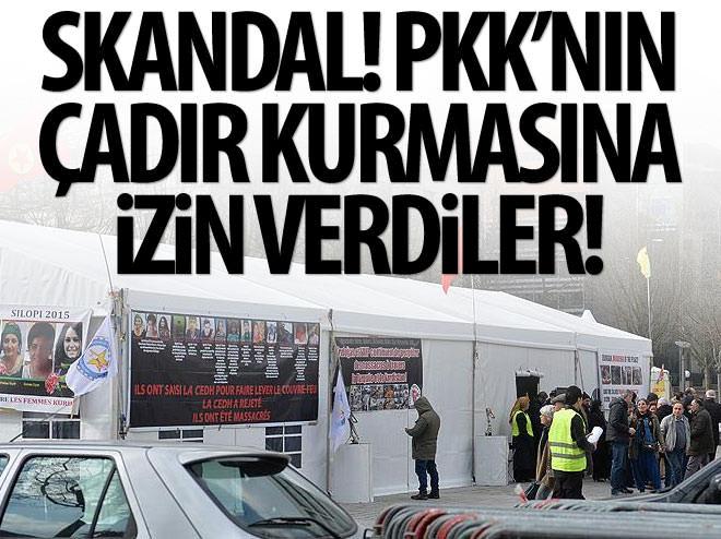 SKANDAL! PKK'YA ZİRVE ÖNCESİ ÇADIR KURMA İZNİ