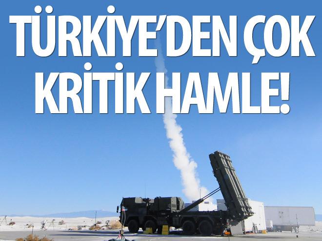 TÜRKİYE'DEN ÇOK KRİTİK HAMLE!