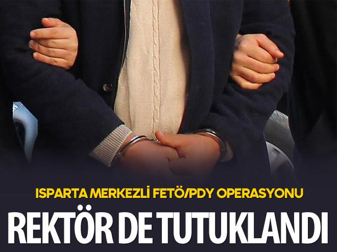 FETÖ/PDY OPERASYONUNDA ESKİ REKTÖR TUTUKLANDI
