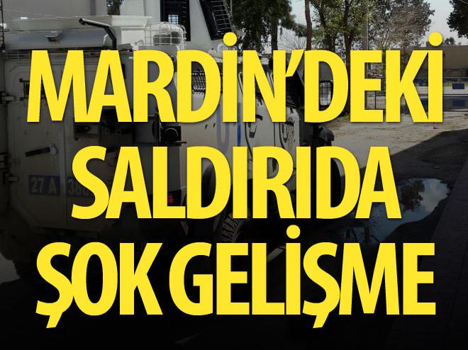MARDİN'DE BOMBALI SALDIRI