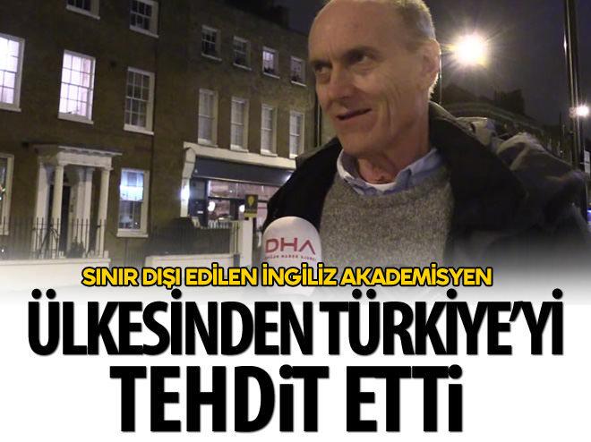 ÜLKESİNDEN TÜRKİYE'Yİ TEHDİT ETTİ