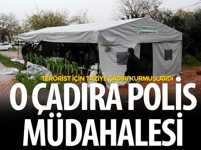 İHANET ÇADIRINA POLİS MÜDAHALE ETTİ