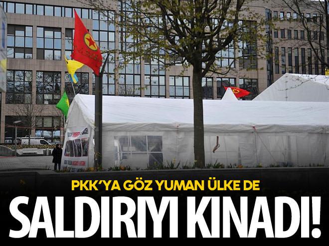 HAİN SALDIRIYI PKK'YA GÖZ YUMAN ÜLKE DE KINADI!