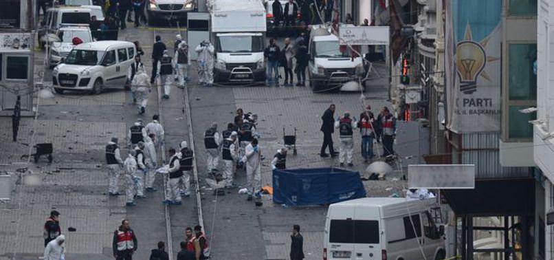İSTİKLAL CADDESİ'NDE CANLI BOMBA SALDIRISI