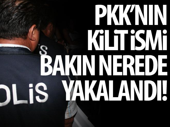 PKK'NIN KİLİT İSMİ BAKIN NEREDE YAKALANDI
