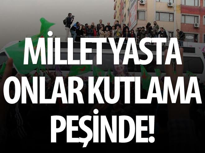 MİLLET YASTA ONLAR KUTLAMA PEŞİNDE!