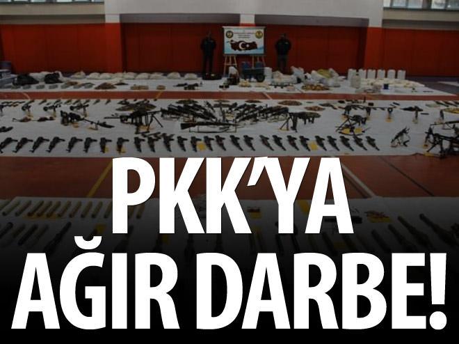 PKK'YA DİYARBAKIR'DA AĞIR DARBE!
