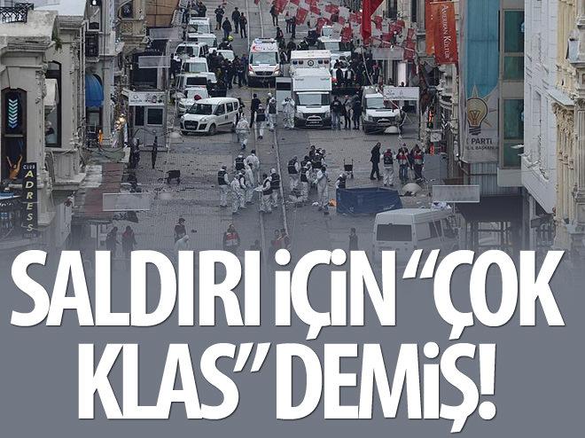 """TAKSİM SALDIRISINI """"ÇOK KLAS"""" DİYE NİTELEMİŞ!"""