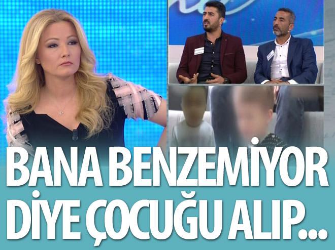 BANA BENZEMİYOR DİYE ÇOCUĞU ALIP...