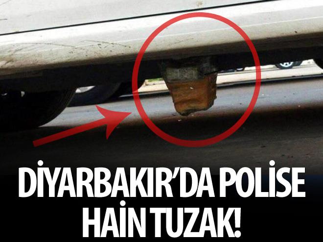DİYARBAKIR'DA POLİSE HAİN TUZAK!
