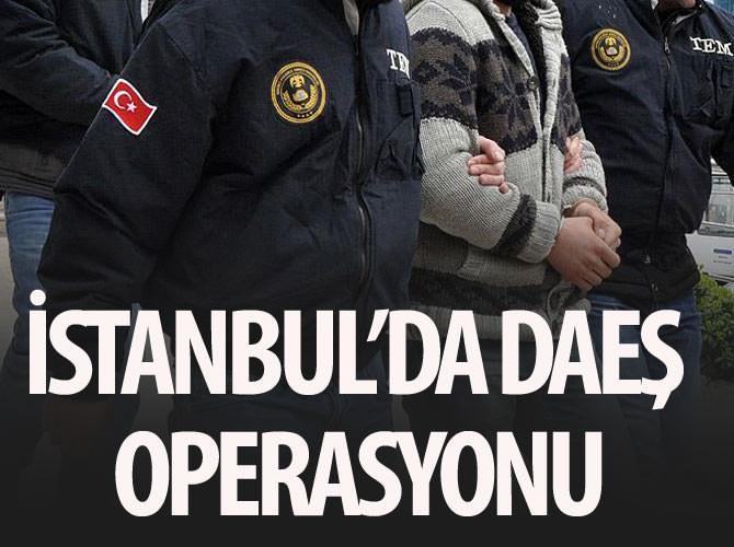 İSTANBUL'DA DAEŞ BAĞLANTILI 3 KİŞİ GÖZALTINA ALINDI