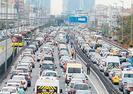 İSTANBUL'DA ARAÇ TRAFİĞİ %8 AZALDI