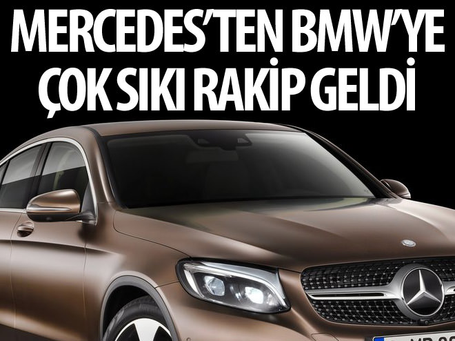 MERCEDES'TEN BMW X4'E ÇOK SIKI RAKİP: GLC COUPE