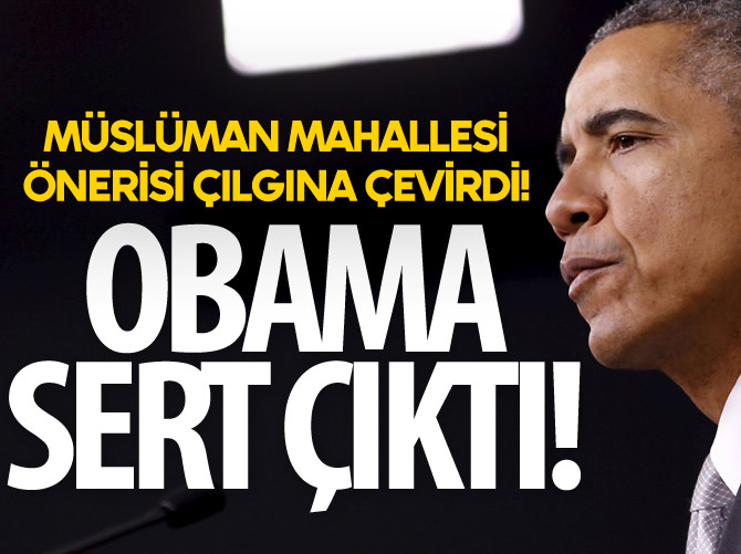 OBAMA, CRUZ'A SERT ÇIKTI!