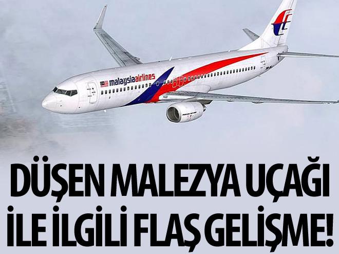 KAYBOLAN MALEZYA HAVAYOLLARI'NA AİT UÇAKLA İLGİLİ ÖNEMLİ GELİŞME!