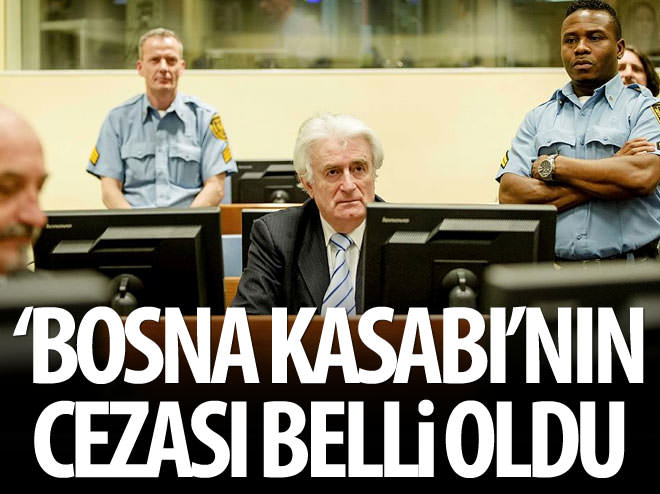 'BOSNA KASABI' SUÇLU BULUNDU