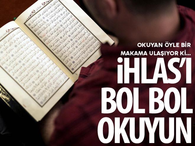 İHLAS SURESİNİ OKUYAN ÖYLE BİR MAKAMA ULAŞIYOR Kİ...