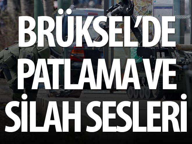 BRÜKSEL'DE PATLAMA VE SİLAH SESLERİ̇