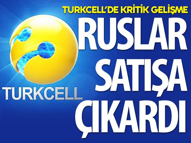 TURKCELL'DE KRİTİK GELİŞME