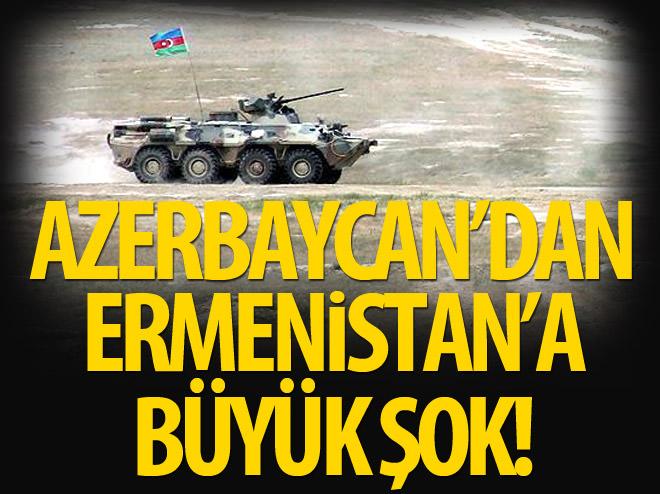 AZERBAYCAN, ERMENİSTAN MEVZİLERİNİ VURDU!