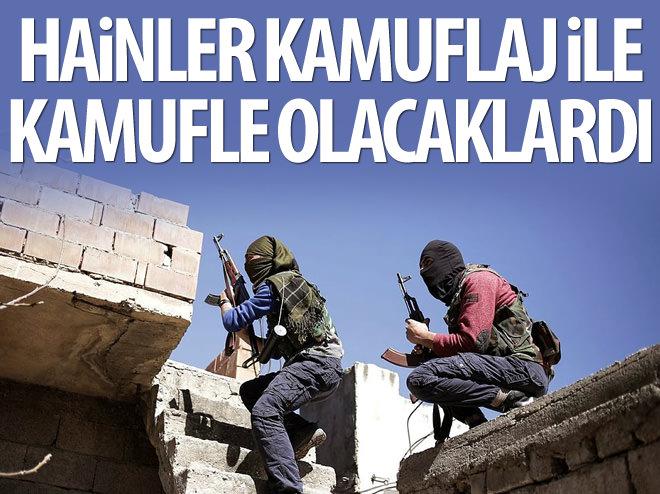 TERÖRİSTLER ASKER KIYAFETİ İLE EYLEM YAPACAKTI!