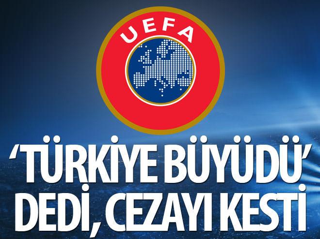 'TÜRKİYE BÜYÜDÜ' DEDİ, CEZAYI KESTİ!