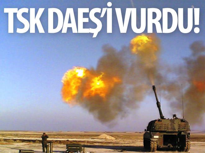 TSK, KUZEY IRAK'TAKİ DAEŞ HEDEFLERİNİ VURDU!