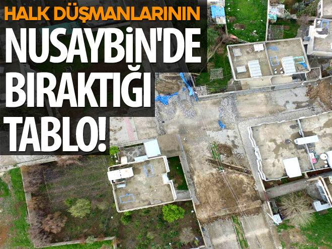 'HALK DÜŞMANLARI'NIN NUSAYBİN'DE BIRAKTIĞI TABLO