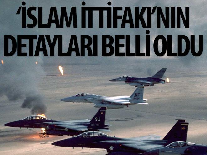 İSLAM İTTİFAKI'NIN DETAYLARI BELLİ OLDU!
