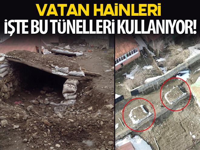 VATAN HAİNLERİ KAÇIŞ İÇİN BU TÜNELLERİ KULLANIYOR!