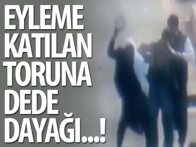 EYLEME KATILDI, DAYAĞI YEDİ!