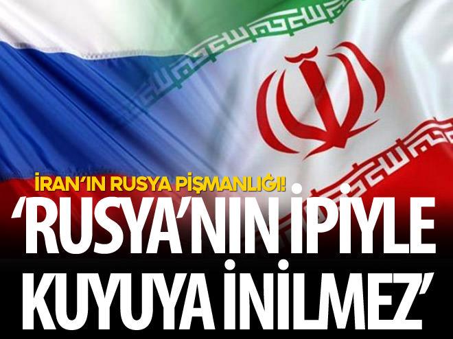 'RUSYA'NIN İPİYLE KUYUYA İNİLMEZ'