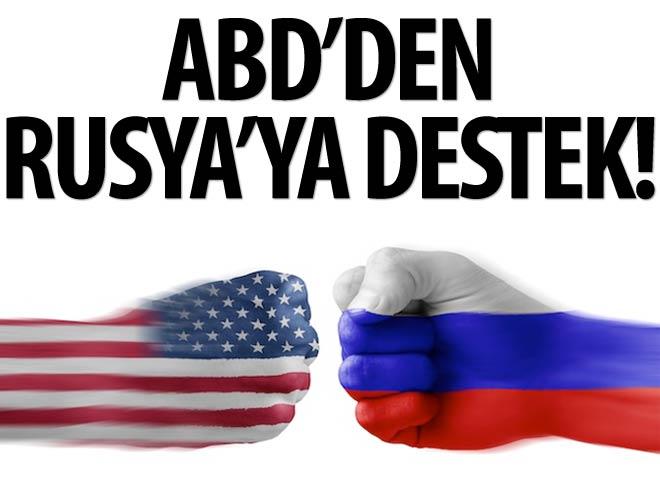 ABD'DEN RUSYA VE ESAD AÇIKLAMASI!
