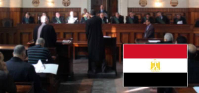 MISIR'DA DARBE KARŞITI ÖĞRENCİLERE HAPİS CEZASI
