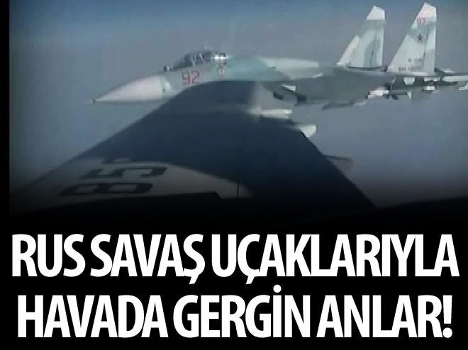 NATO UÇAKLARIYLA RUS JETLERİ ARASINDA GERGİNLİK