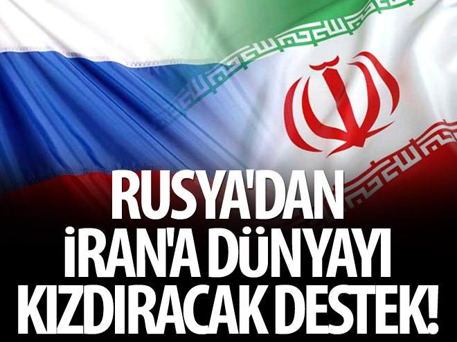 RUSYA'DAN İRAN'A DÜNYAYI KIZDIRACAK DESTEK!