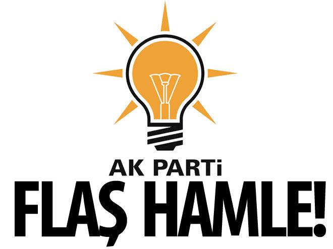 AK PARTİ'DEN FLAŞ HAMLE