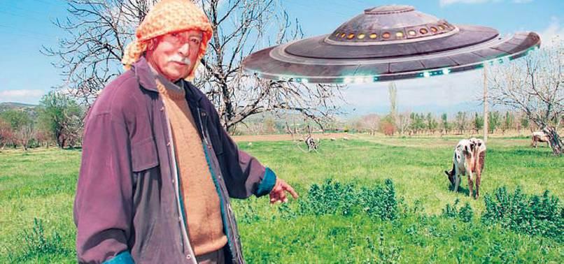 UFO GÖREN MASUM KÖYLÜ!