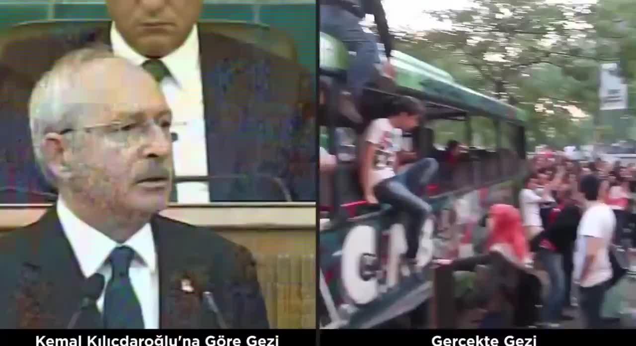 Kılıçdaroğlu'ndan Gezi kalkışmasına övgü ile ilgili görsel sonucu