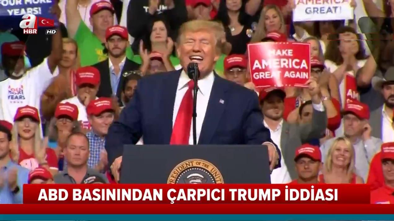 ABD basınından çarpıcı Trump iddiası |Video
