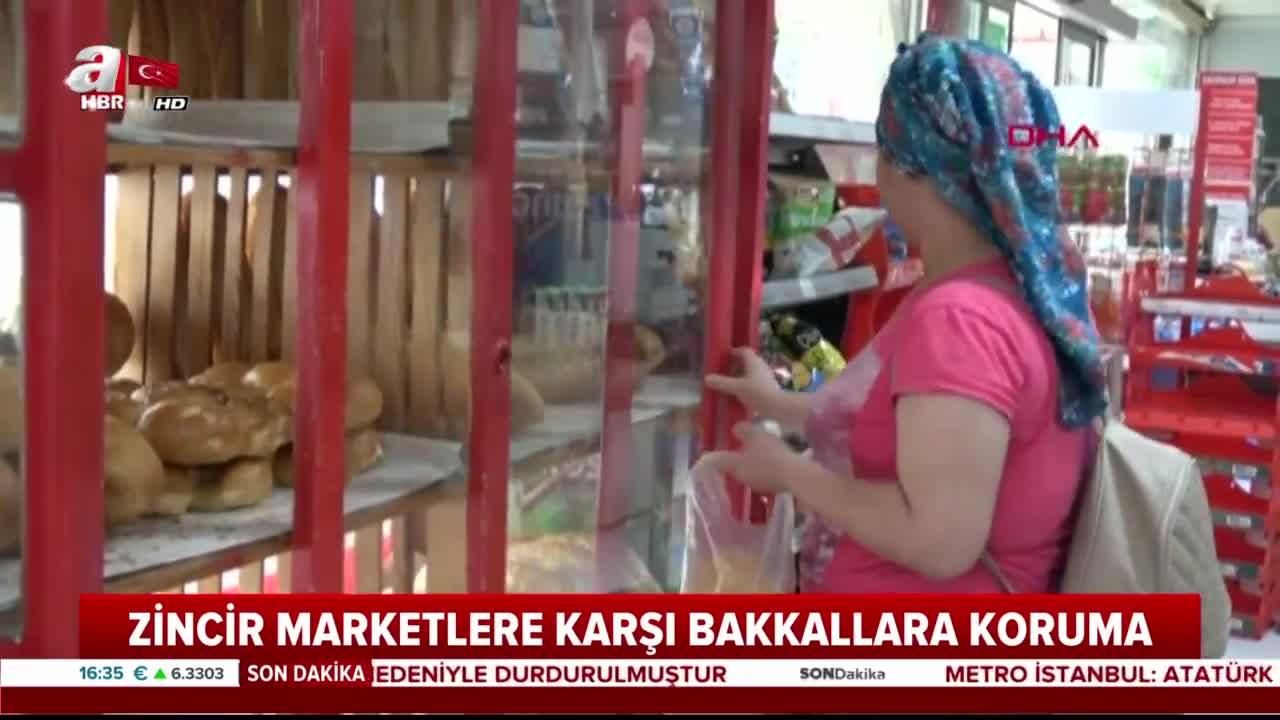 Anadolu'daki bakkala devlet koruması geliyor |Video