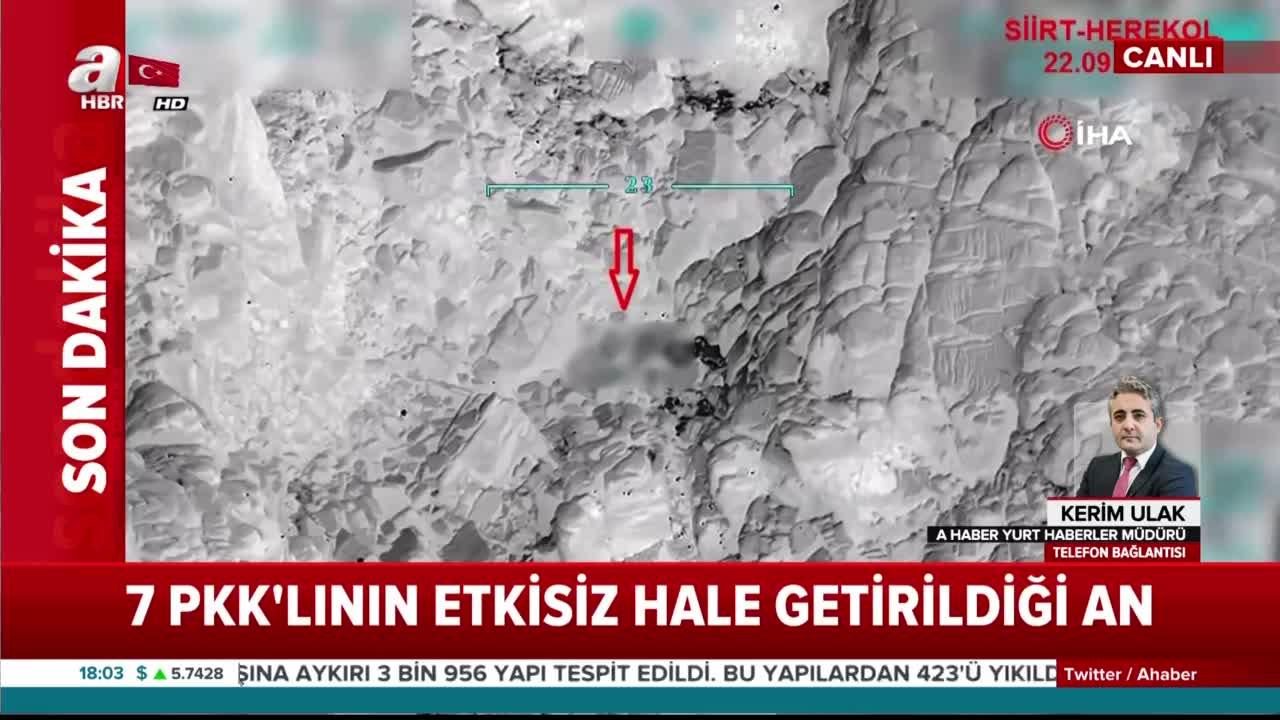 Son dakika: 7 PKK'lı terörist işte böyle etkisiz hale getirildi! Operasyon görüntüleri |Video