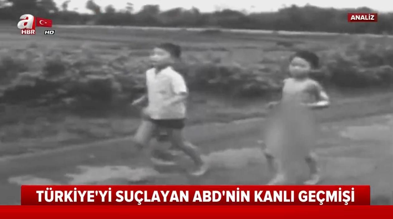 Türkiye'yi suçlayan ABD'nin kanlı geçmişi