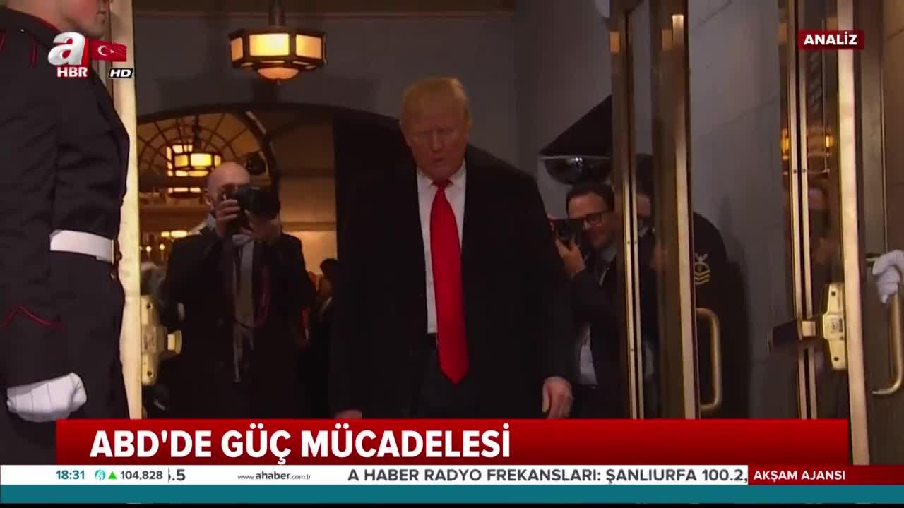 ABD'de güç savaşı! Beyaz Saray mı 'Bizans Sarayı' mı?