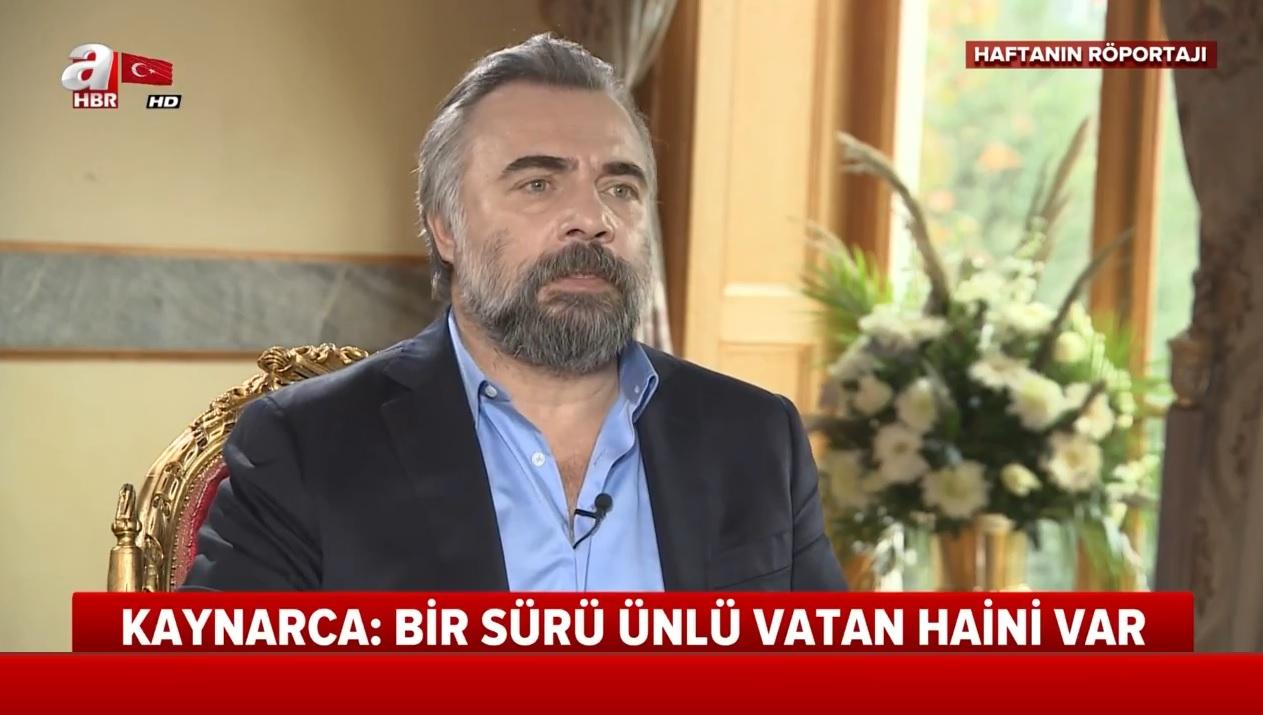 Oktay Kaynarca'dan A Haber'e çarpıcı açıklamalar: Bir sürü vatan haini ünlü var |Video