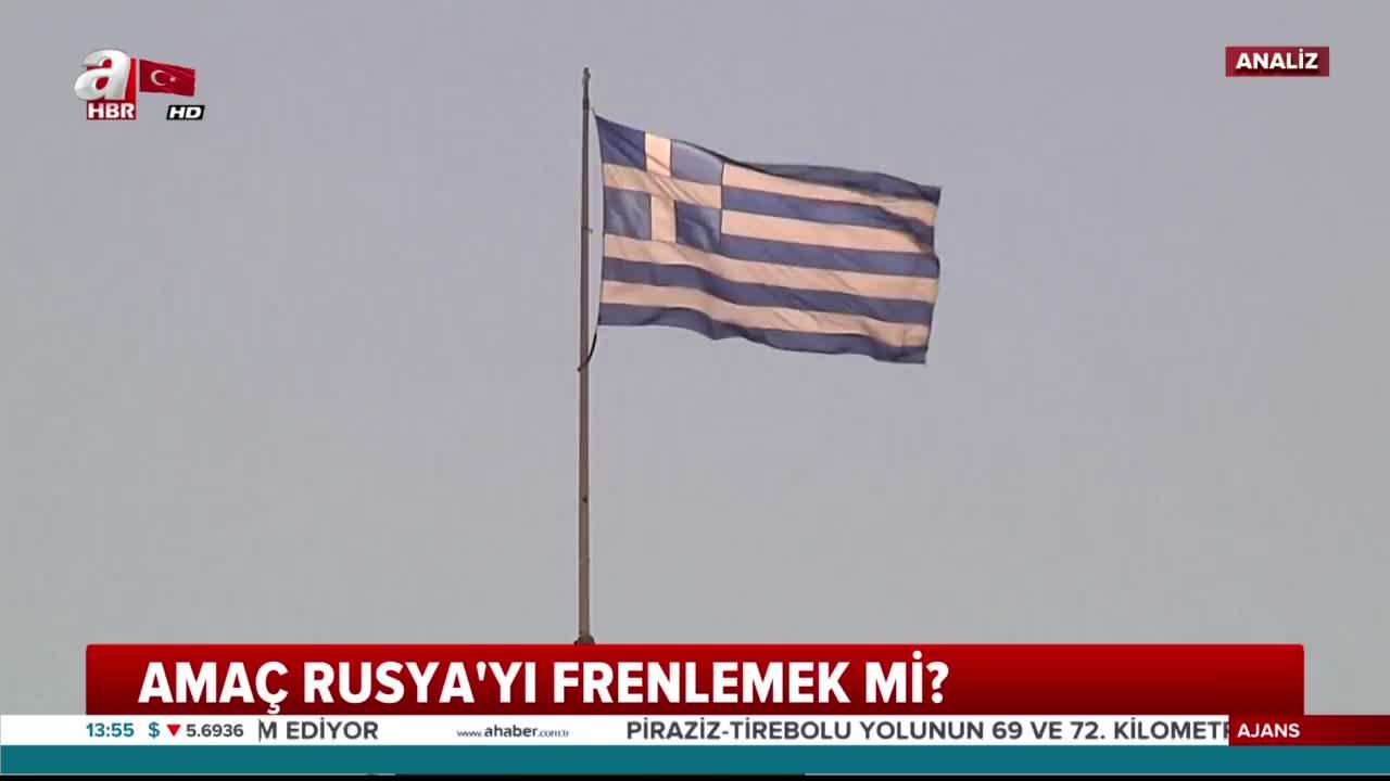 ABD Yunanistan'da ne yapmak istiyor? Hedef Türkiye mi?