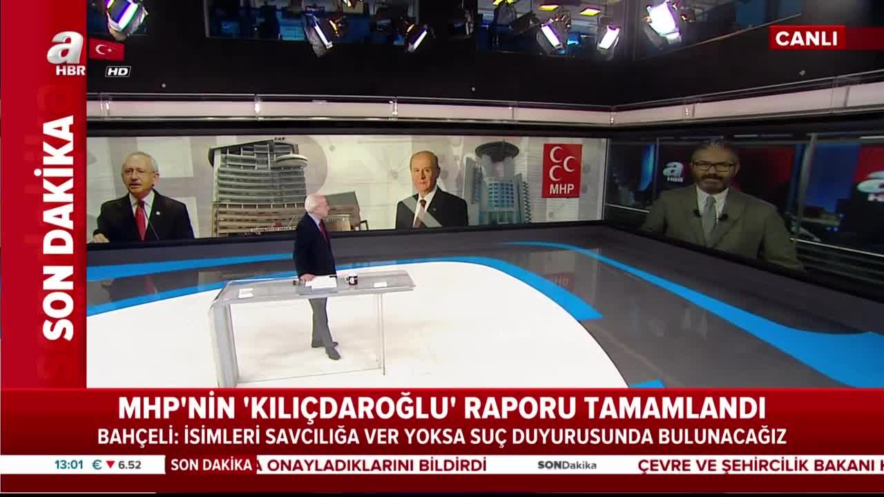 Son dakika: MHP'nin 'Kılıçdaroğlu' raporu tamamladı |Video